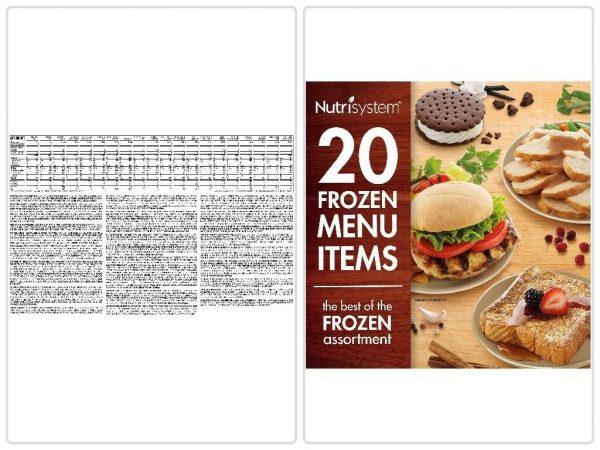 Nutrisystem 5 Day Diet Kit Weight Loss Frozen Food Meals Snacks Breakfast Lunch 6