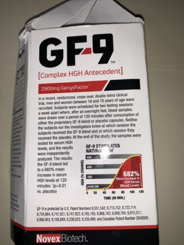Basic Research GF-9 Dietary Supplement 168 Capsules(2) bottles exp.12/2022 5