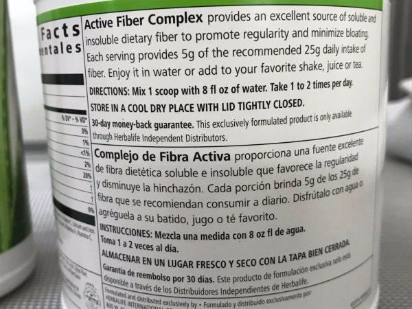 HERBALIFE Digestive Health Program, Herbal Aloe, 21 Day Balancin - Active Fiber 9