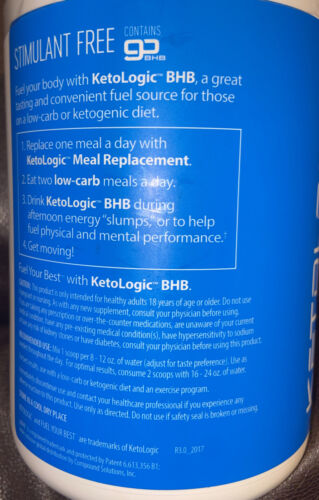 LOT OF 4 Ketologic Keto BHB Patriot-Pop 8.9Oz  Suppresses Appetite Bb 5/21 2