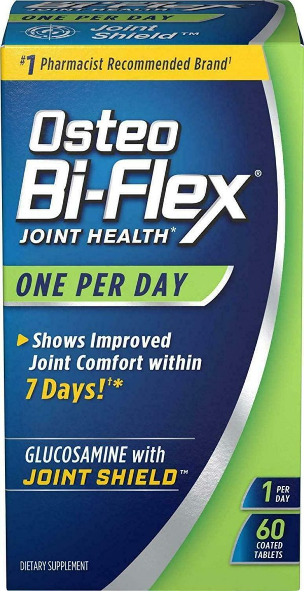 Osteo Bi-Flex One Per Day, 60 Coated Tablets (Pack Of 3)