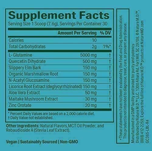 Nature MD GutConnect 365 8.4 OZ Vanilla Cinnamon Digestive Health  Exp.3/23 1
