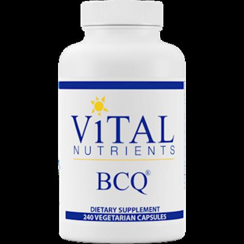 Vital Nutrients - BCQ  240 Vegetarian Capsules NEW FRESH