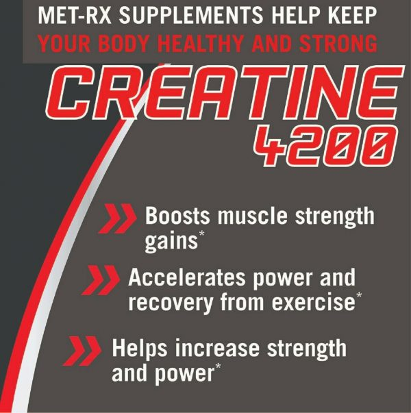 Creatine 4200 Supplement Supports Muscles Pre Post Workout Recovery Capsules 2