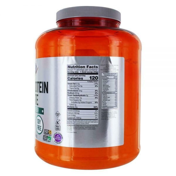 NOW Foods - NOW Sports Whey Protein Isolate Powder Creamy Vanilla - 5 lbs. 1