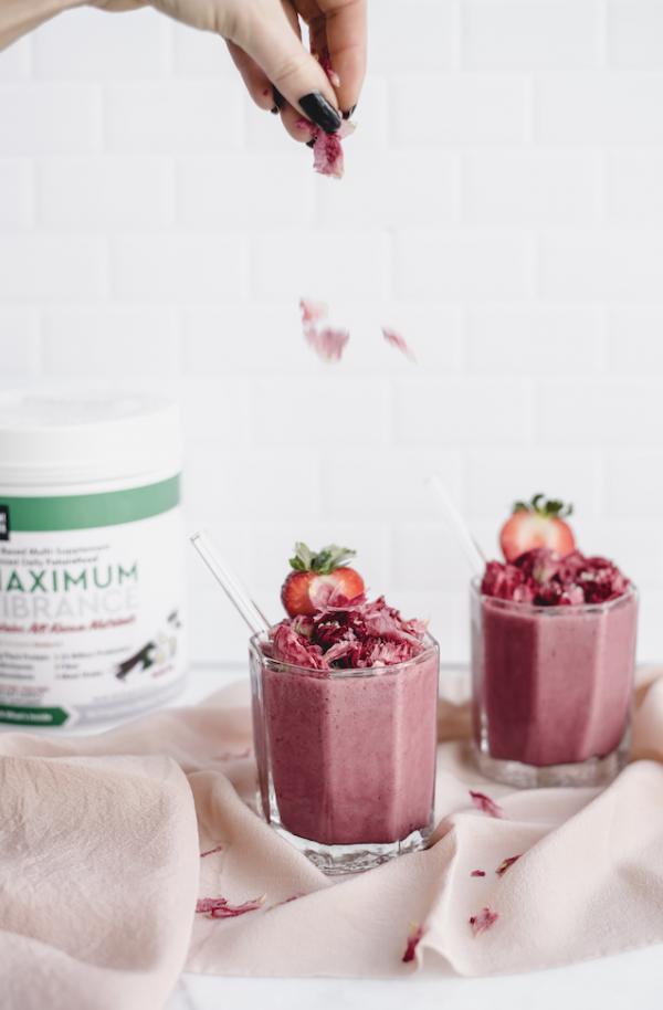 Maximum Vibrance Vanilla Multi-Supplement Powder 619g (21.82 oz) - Exp:  03 / 23 2