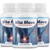 3 Bottles Vita Move Advanced Support Formula Vitamove 60 Capsules