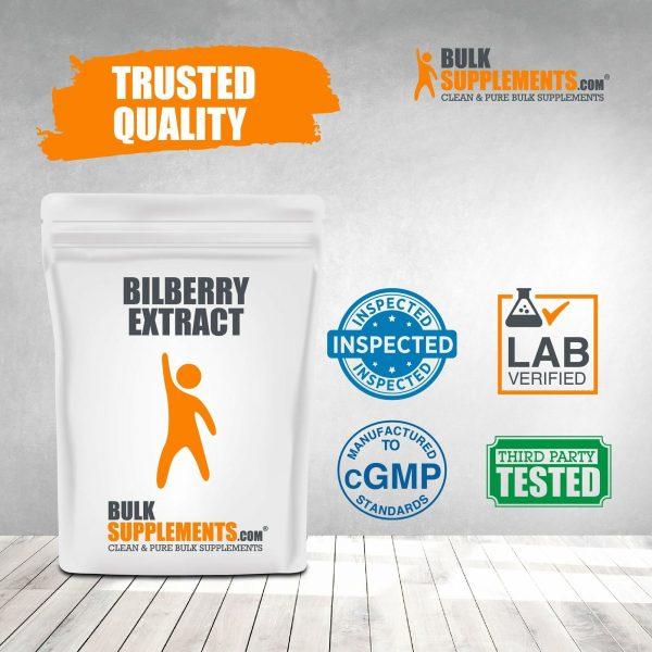 BulkSupplements.com Bilberry Extract Powder - Eye Supplements - Dry Eye 4