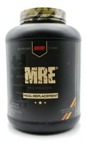 REDCON1 MRE Real Whole Food Meal Replacement 7.15lbs Salmon Beef Chicken Protein