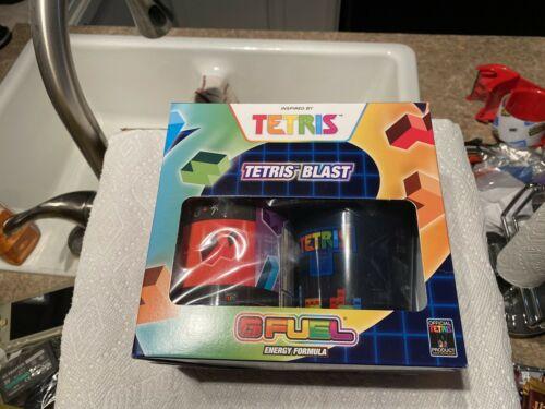 *Rare* G Fuel TETRIS BLAST Collector's Box - Limited Edition 1
