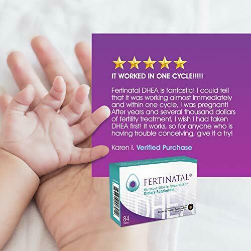 Fertinatal  for Female Fertility – Natural Fertility Supplement for Women -... 4