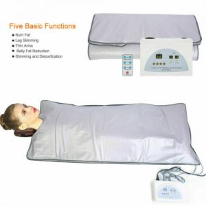 110V Far Infrared Sauna Heating Blanket Body Shape Slimming Machine Top Seller 1
