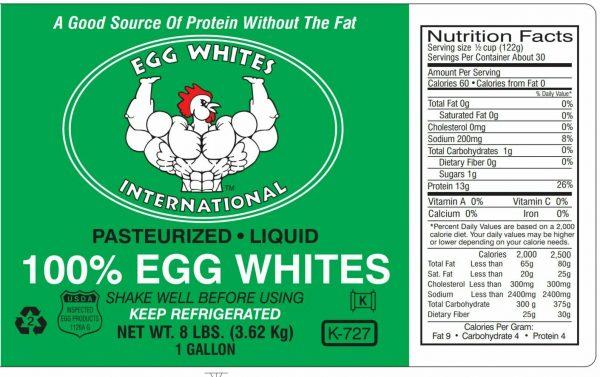 Egg Whites International Liquid Egg White Protein Drink - 2 Gallons 1