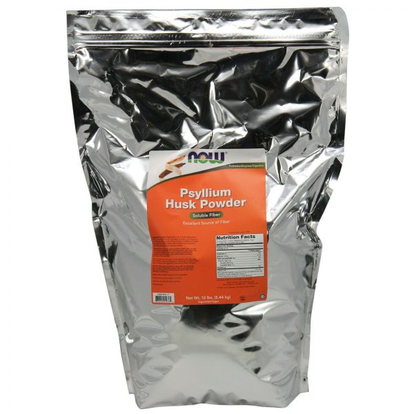 NOW Foods Psyllium Husk Powder, 12 lbs.
