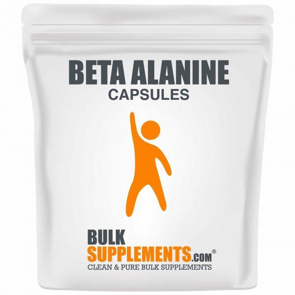 BulkSupplements.com Beta Alanine - Vegan Pre Workout - Beta Alanine Powder 5