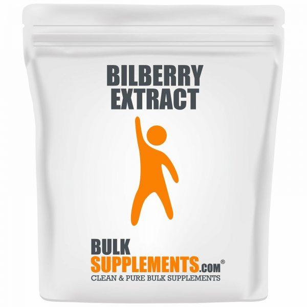 BulkSupplements.com Bilberry Extract Powder - Eye Supplements - Dry Eye