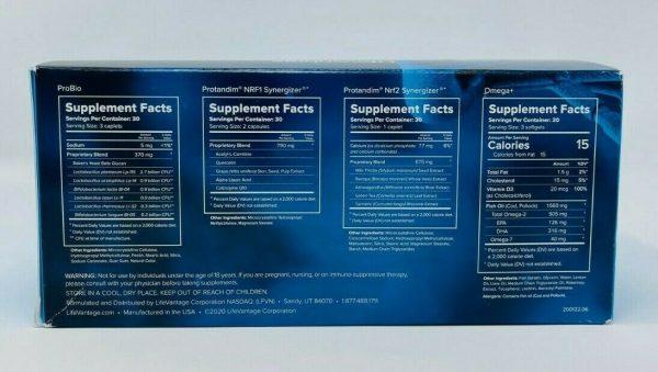 LifeVantage Vitality Stack Pack PROTANDIM NRF1 NRF2 PHYSIQ ProBio OMEGA+  1