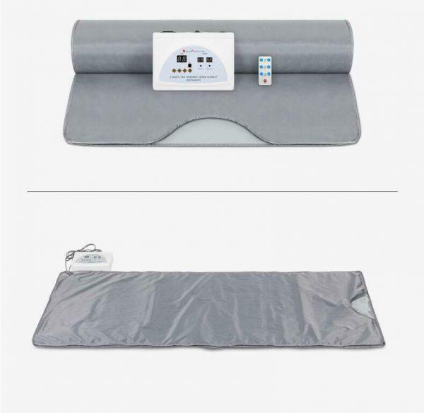Far Infrared Sauna Blanket 2 Zone Slimming Weight Digital Controller Spa Beauty 8