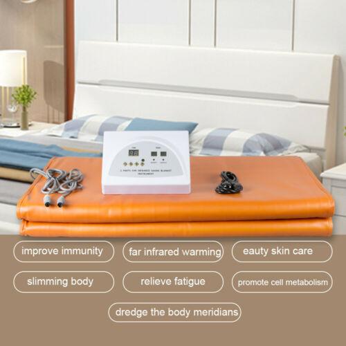 Sauna Far Infrared Thermal Blanket Heating Weight Loss Bag SPA Detox Machine USA 1
