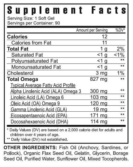 Youngevity EFA PLUS (3) pack Dr. Wallach's premium essential fatty acid blend  1