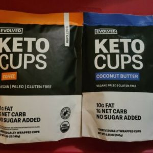 (10 Packs) Evolved Keto Cups - Coffee & Coconut Butter COMBO. EXP 3/2022 1