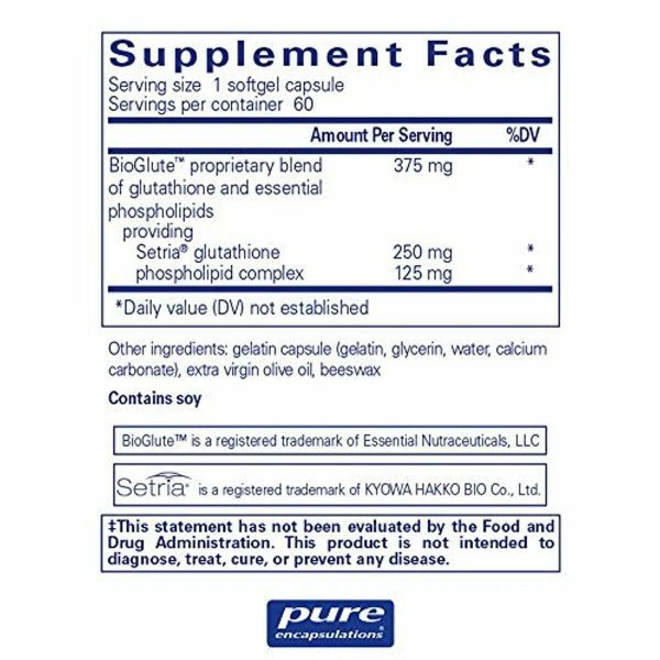 Pure Encapsulations - Liposomal Glutathione - Antioxidant, Liver Support and Det 1