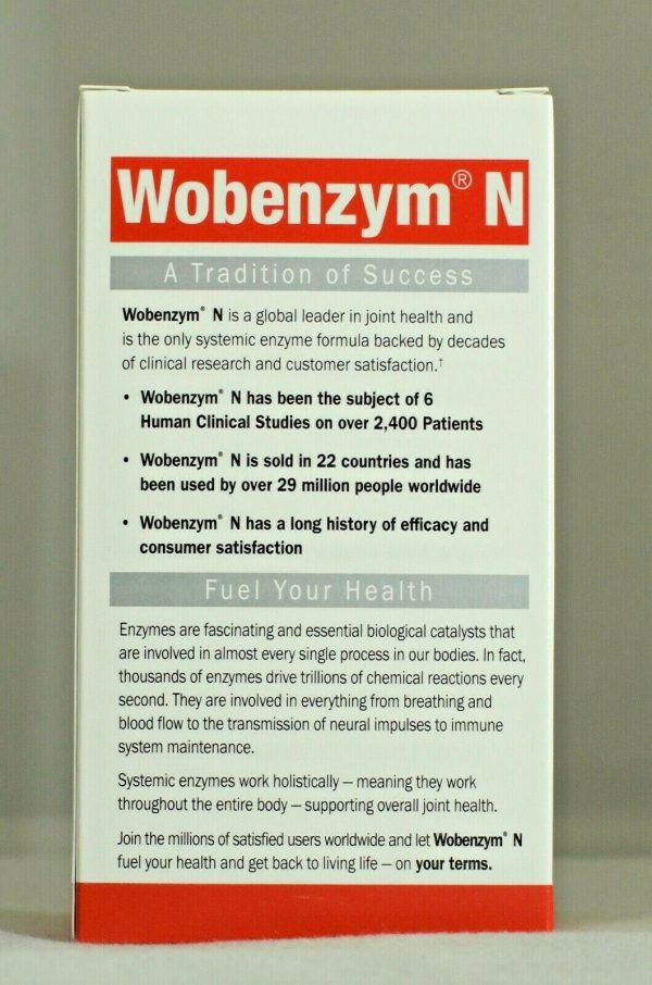 Wobenzym N 400 Garden of Life Inflammation Arthritis Joint Support  2
