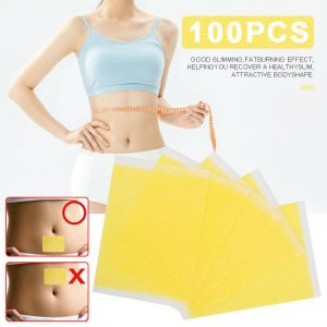 100PCS Strongest Weight Loss Slimming Diets Slim Patch Pads Adhesive Stickers US