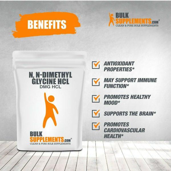 BulkSupplements.com N,N-Dimethyl Glycine HCl (DMG HCl) - Sleep Powder 5