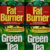 Green Tea Fat Burner 400mg EGCG Maximum Strength, 200 400 or 600 Liquid Soft-Gel