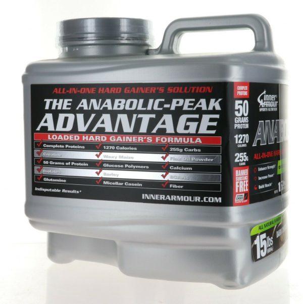 Inner Armour® Anabolic Peak Gainer 15Lbs ALL IN ONE HARD GAINER DARK CHOCOLATE
