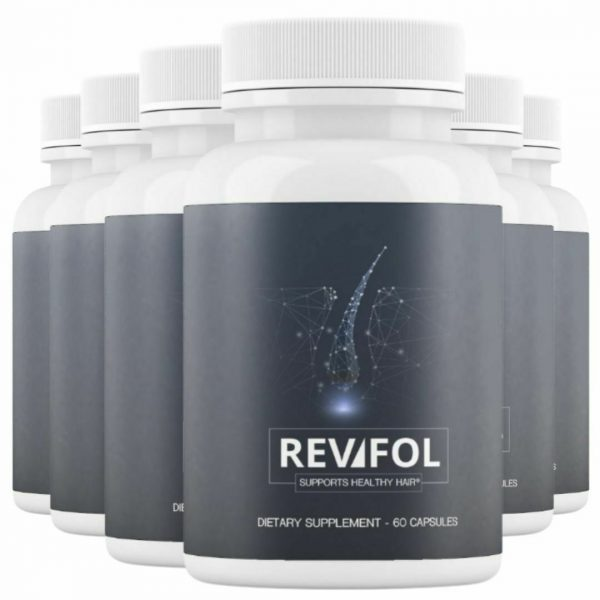 6 Bottles Revifol Hair Skin and Nails Supplement Hair Growth Vitamins 60 Caps