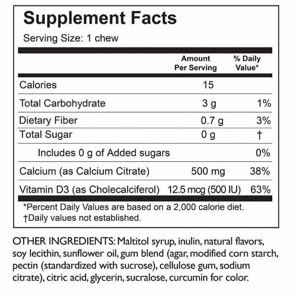 Celebrate Vitamins Calcium Citrate Soft Chew 5