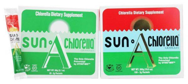 Sun Chlorella - Dietary Chlorella Granules A 300 g - 100 Pack(s)