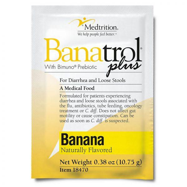 Banatrol Plus Oral Supplement Banana 10.75 Gram Packet 75 Ct