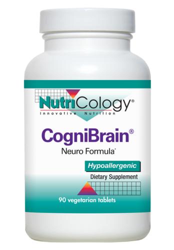 NutriCology CogniBrain 90 Vegetarian Tablets