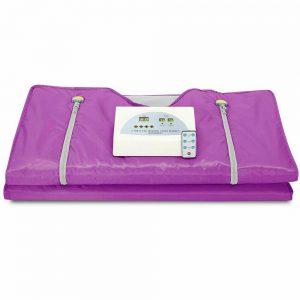 110V Sauna Blanket 2 Zone Digital Far-Infrared (FIR) Oxford Heat Therapy Blanket 1
