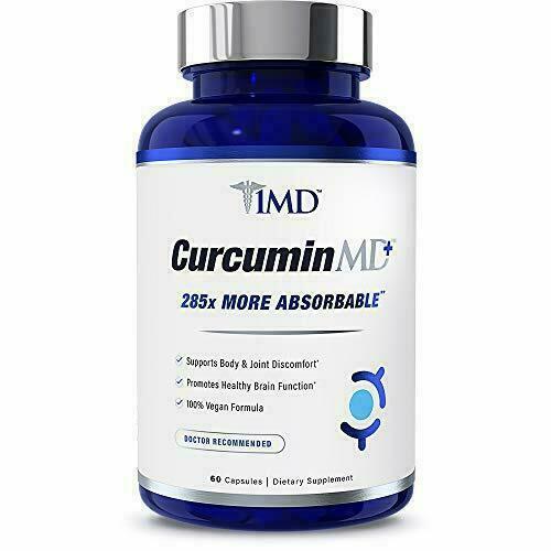 1MD CurcuminMD Plus - Turmeric Curcumin with Boswellia Serrata - 285x More...  1
