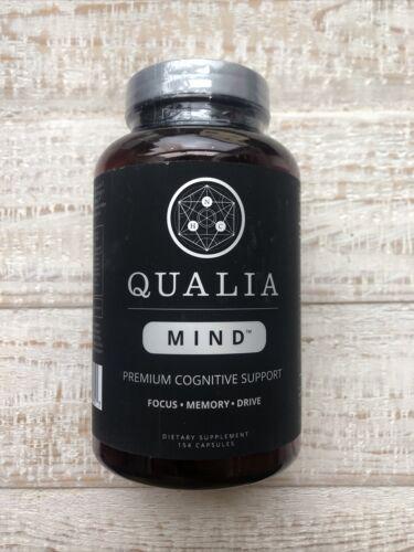 Qualia Mind • Premium Cognitive Support • Focus-Memory-Drive • 154 Capsules