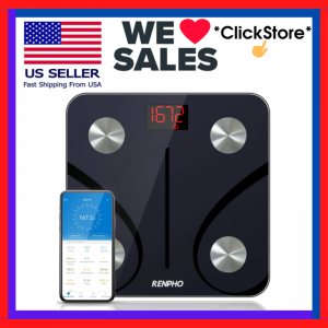 Bluetooth Body Fat Scale Digital Weight Scale Composition Analyzer BMI Scale