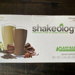 *Exp 12/2021* Shakeology Vegan Chocolate/Vanilla Box 24 Packets!