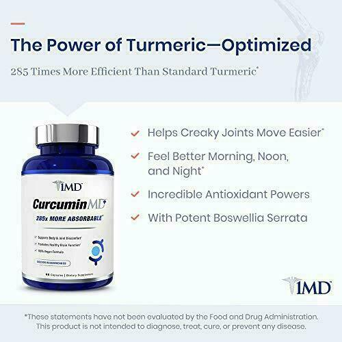 1MD CurcuminMD Plus - Turmeric Curcumin with Boswellia Serrata - 285x More...  5
