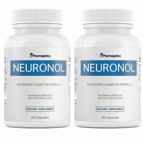 2 Bottles Neuronol Advanced Cognitive Formula 60 Capsules x 2