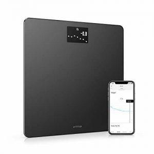 Body - Digital Wi-Fi Smart Scale with Automatic Smartphone App Sync, Black 1