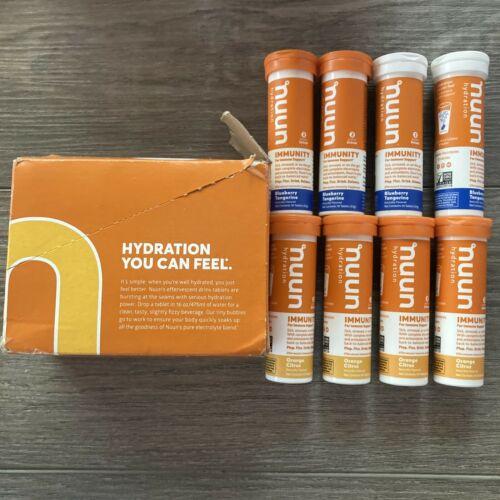 16 Tubes/160 tabs Nuun Hydration Immunity Support Hydration Variety Pk 09/2022+