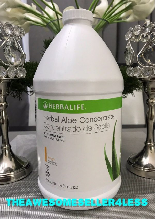 HERBALIFE HERBAL ALOE CONCENTRATE  ALL FLAVORS AVAILABLE 1/2 HALF GALLON  1.89L