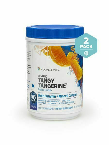 Youngevity Beyond Tangy Tangerine Original 2 Pack canisters