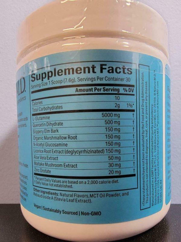 Vanilla Cinnamon - Nature M.D. GutConnect 365 8.4 oz - New / Sealed! Exp 3/2023 2