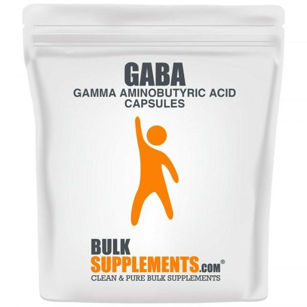 BulkSupplements.com Gamma Aminobutyric Acid (GABA) 750mg Powder - Focus Aid 4
