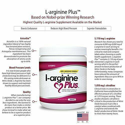 3 Bottles of Raspberry L-arginine Plus 2
